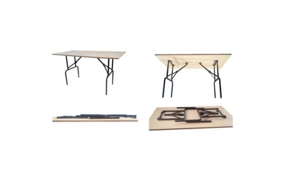 Складной стол Tender DS(600x1400) H-755
